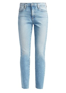 AG Adriano Goldschmied Mari High-Rise Slim Straight Jeans