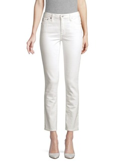 AG Adriano Goldschmied Mari High-Rise Straight Jeans