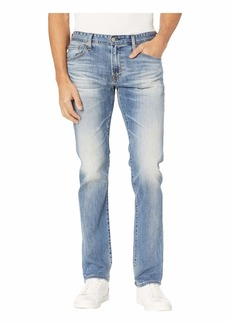 AG Adriano Goldschmied Matchbox Slim Straight Leg Denim Pants in 21 Years Seize