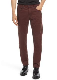 AG Adriano Goldschmied Men's Ag Tellis Herringbone Slim Fit Pants
