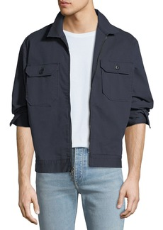 AG Adriano Goldschmied Men's Axle Shop Twill Jacket