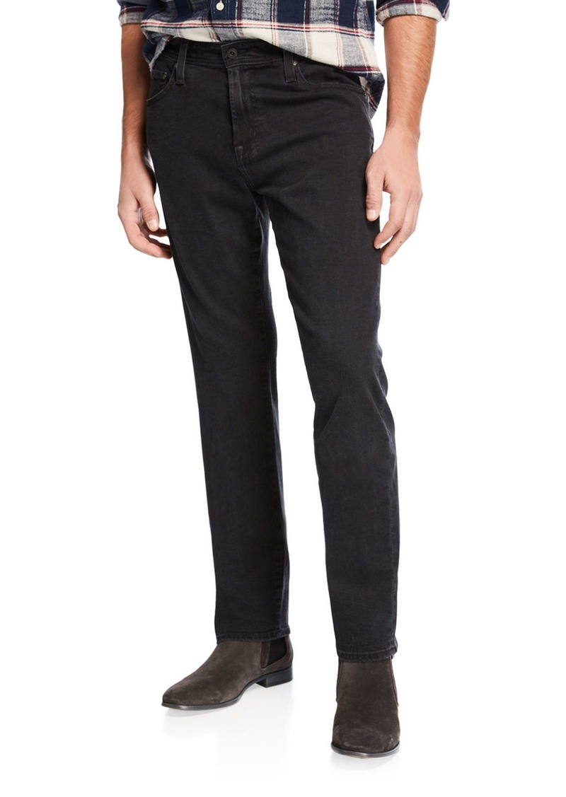 AG Adriano Goldschmied Men's Dylan Slim-Fit Coated Jeans
