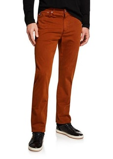 AG Adriano Goldschmied Men's Everett Slim-Straight Twill Pants