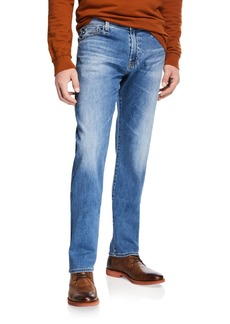 AG Adriano Goldschmied Men's Everett Straight-Leg Denim Jeans