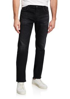 AG Adriano Goldschmied Men's Graduate LBK Tailored-Leg Denim Jeans