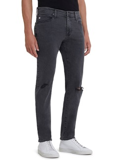 AG Adriano Goldschmied Men's Tellis Slim Ripped Jeans