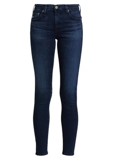 AG Adriano Goldschmied Mid-Rise Ankle Skinny Legging Jeans