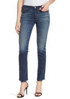 AG Adriano Goldschmied Mid-Rise Cigarette Jeans