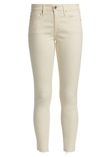 AG Adriano Goldschmied Mid-Rise Legging Ankle Jeans