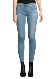 AG Adriano Goldschmied Middi Mid-Rise Ankle Jeans