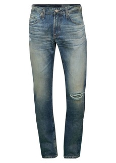 AG Adriano Goldschmied Modern Distressed Slim-Fit Jeans
