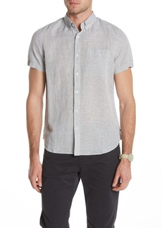 AG Adriano Goldschmied Nash Short Sleeve Standard Fit Shirt