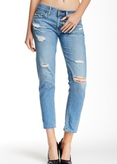 AG Adriano Goldschmied Nikki Deconstructed Relaxed Skinny Crop Jeans