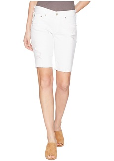Nikki Shorts in 1 Year White Mended
