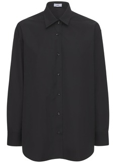 AG Adriano Goldschmied Oversize Cotton Poplin Shirt