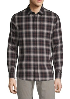 AG Adriano Goldschmied Plaid Button-Down Shirt
