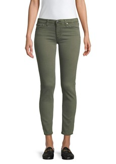 AG Adriano Goldschmied Prima Ankle-Crop Cigarette Jeans