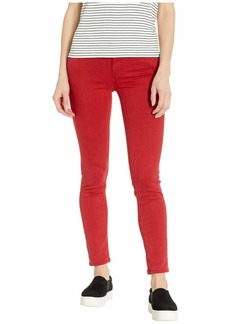 AG Adriano Goldschmied Prima Ankle in 1 Year Hi White Clever Red