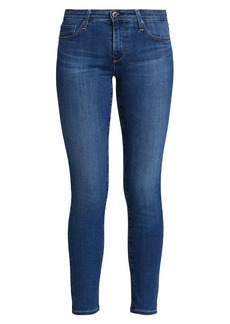 AG Adriano Goldschmied Prima Ankle Mid-Rise Cigarette Jeans