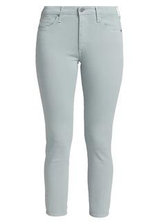 AG Adriano Goldschmied Prima Crop Cigarette-Leg Jeans