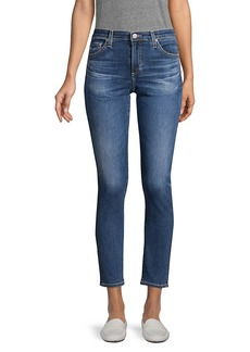 AG Adriano Goldschmied Prima Mid-Rise Ankle Cigarette Jeans
