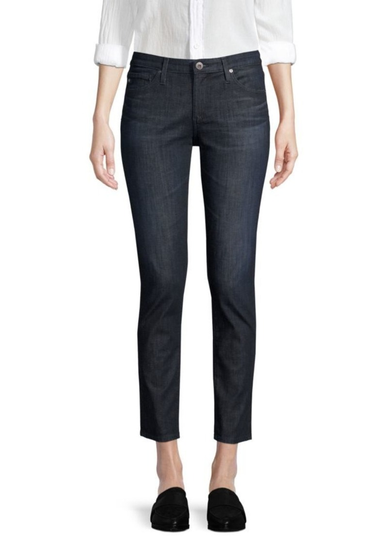 AG Adriano Goldschmied Prima Mid-Rise Ankle Jeans