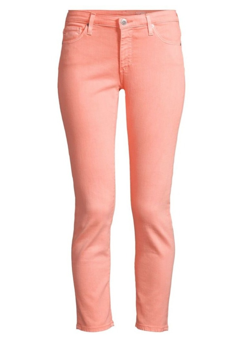AG Adriano Goldschmied Prima Mid Rise Ankle Skinny Jeans