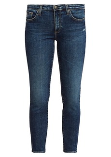 AG Adriano Goldschmied Prima Mid-Rise Crop Cigarette Jeans