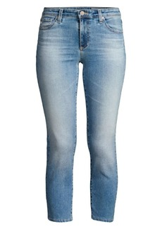 AG Adriano Goldschmied Prima Mid Rise Cropped Cigarette Jeans