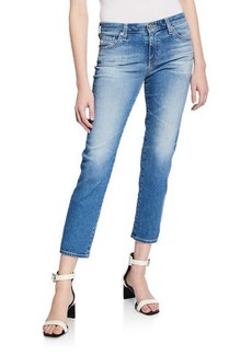 AG Adriano Goldschmied Prima Mid-Rise Cropped Denim Skinny Jeans