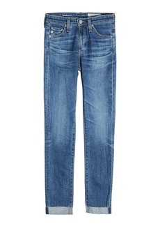 AG Adriano Goldschmied Prima Roll Up Skinny Jeans