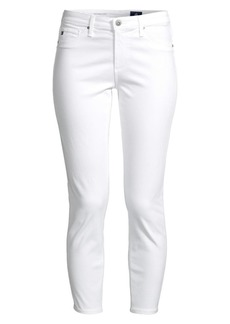 AG Adriano Goldschmied Prima Sateen Crop Jeans