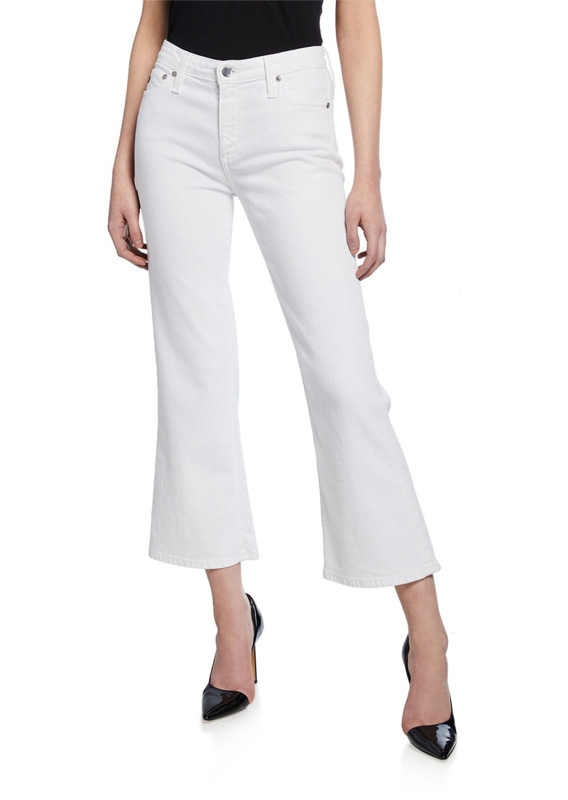 AG Adriano Goldschmied Quinne Crop Mini Flare Jeans