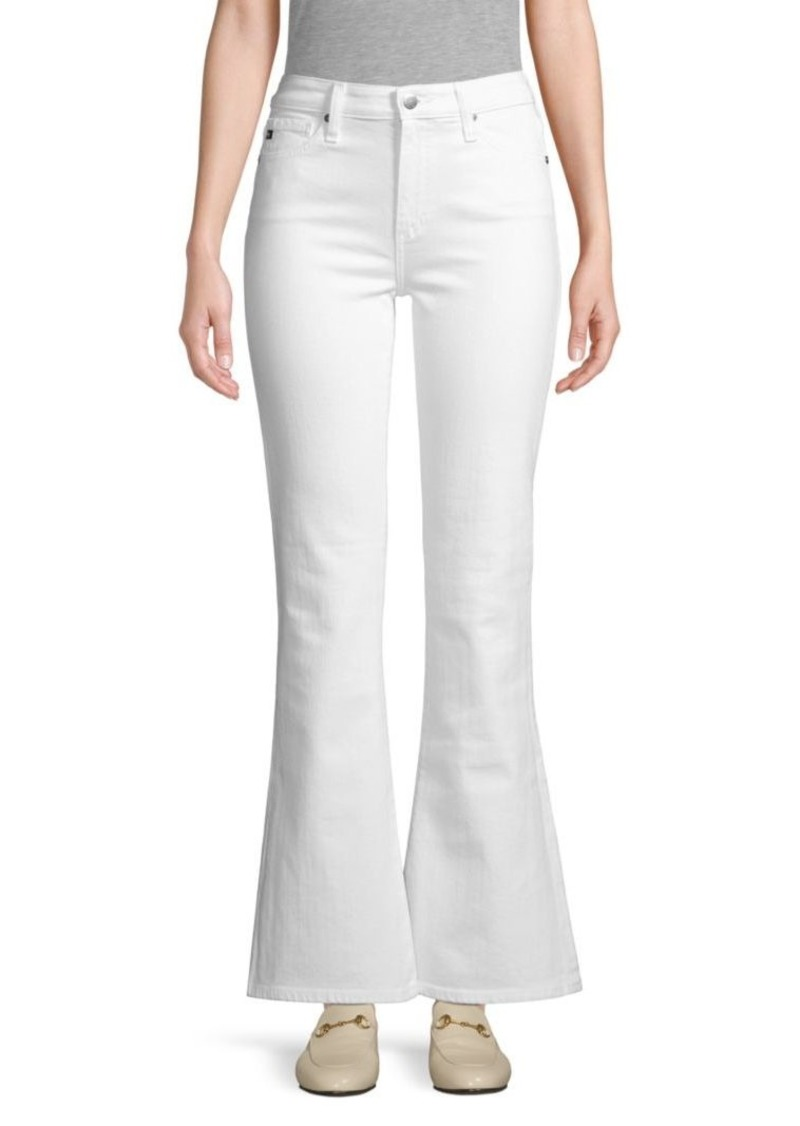 AG Adriano Goldschmied Quinne High-Rise Flare Jeans