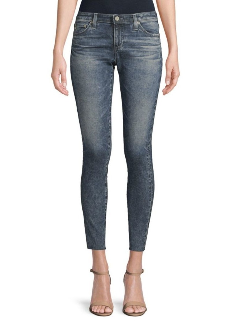 AG Adriano Goldschmied Rev Super Skinny Ankle-Length Jeans