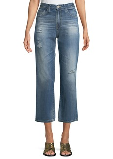 AG Adriano Goldschmied Rhett Straight-Leg Ankle Jeans