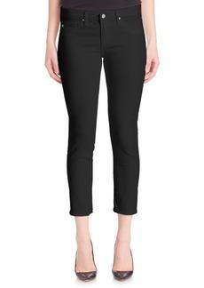 Sateen Stilt Crop Jeans