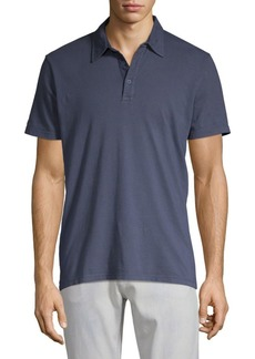 AG Adriano Goldschmied Short-Sleeve Cotton Polo