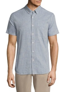AG Adriano Goldschmied Short Sleeve Cotton Shirt