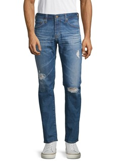 AG Adriano Goldschmied Skinny Distressed Jeans