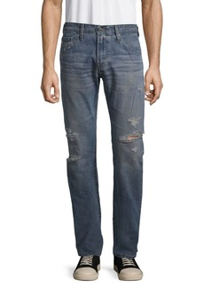 AG Adriano Goldschmied Slim Straight-Leg Jeans