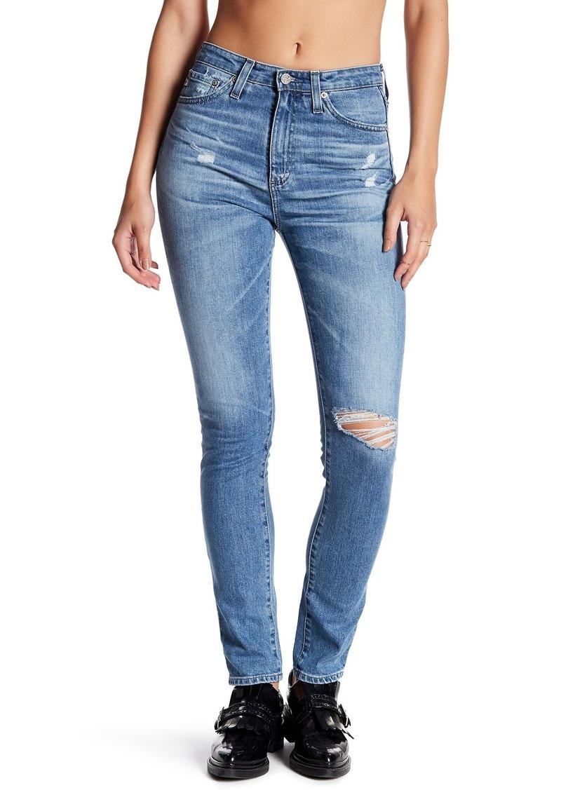 AG Adriano Goldschmied Sophia High Rise Skinny Jeans