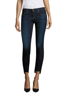AG Adriano Goldschmied Step-Hem Ankle Jeggings