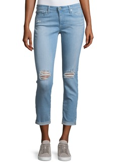AG Adriano Goldschmied Stilt Rolled-Cuff Jeans