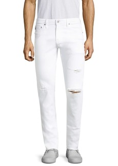 AG Adriano Goldschmied Stockton Distressed Skinny-Fit Jeans