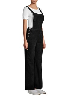 AG Adriano Goldschmied Straight Leg Denim Overalls
