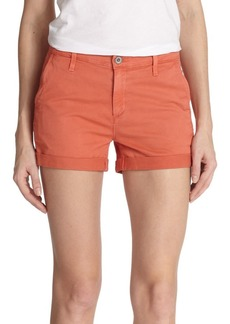 AG Adriano Goldschmied Stretch Cotton Shorts