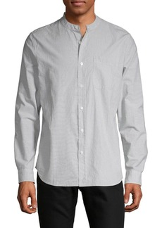 AG Adriano Goldschmied Striped Button-Down Shirt