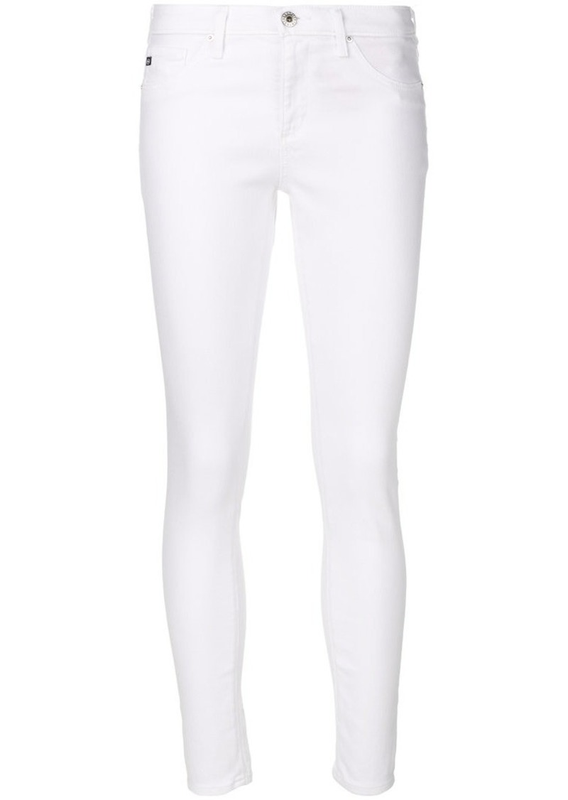 AG Adriano Goldschmied super skinny cropped jeans