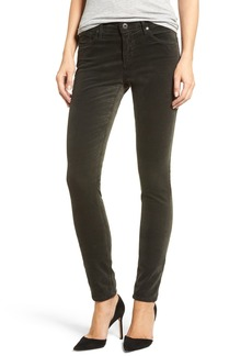 AG Adriano Goldschmied Super Skinny Velvet Leggings